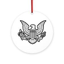 Patriotic Ornament (Round)