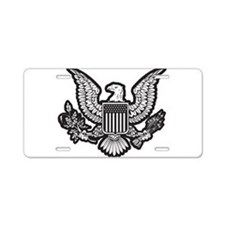 Patriotic Aluminum License Plate