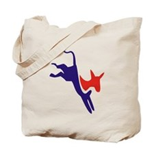 Democrat Donkey v1 Tote Bag