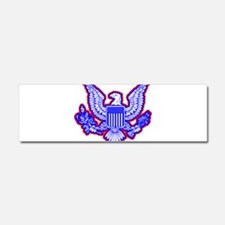 Red, White, and Blue Eagle Car Magnet 10 x 3