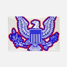 Red, White, and Blue Eagle Magnets