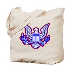 Red, White, and Blue Eagle Tote Bag