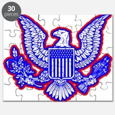 Red, White, and Blue Eagle Puzzle