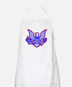 Red, White, and Blue Eagle Apron