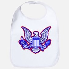 Red, White, and Blue Eagle Bib