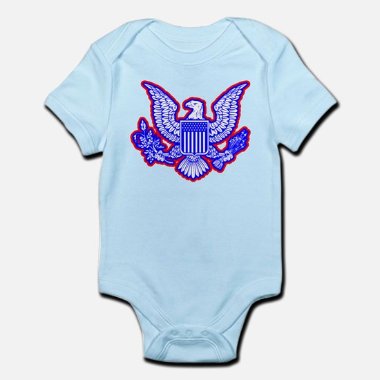 Red, White, and Blue Eagle Body Suit