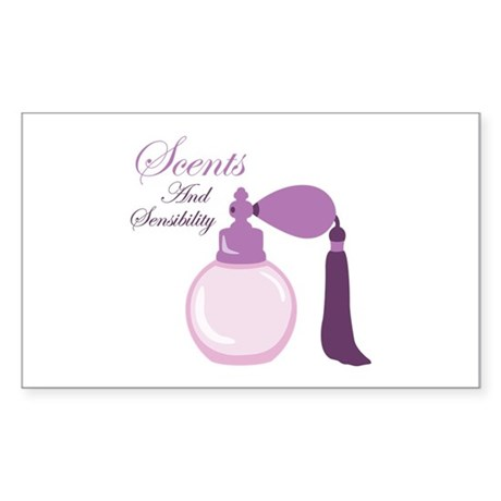Scents and Sensibility Sticker