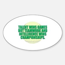 Girls fast pitch Decal