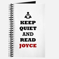 Keep Quiet and Read Joyce Journal