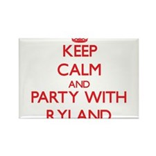 Keep Calm and Party with Ryland Magnets