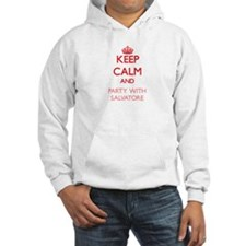 Keep Calm and Party with Salvatore Hoodie