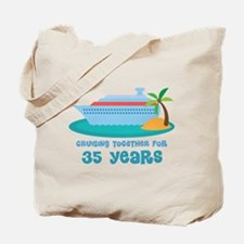 35th Anniversary Cruise Tote Bag