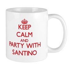 Keep Calm and Party with Santino Mugs