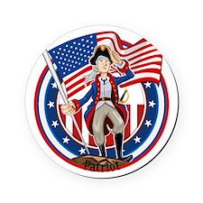 American Patriot Cork Coaster