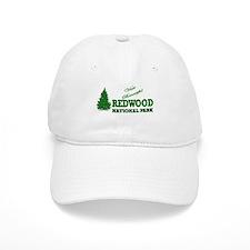 Visit Beautiful Redwood Natio Baseball Cap