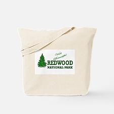 Visit Beautiful Redwood Natio Tote Bag