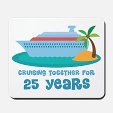 25th Anniversary Cruise Mousepad