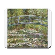Monet Bridge over Water Lilies Mousepad