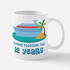 22nd Anniversary Cruise Mug