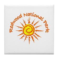 Redwood National Park Tile Coaster