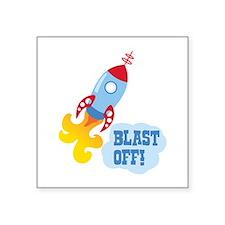 BLAST OFF! Sticker