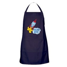 BLAST OFF! Apron (dark)