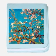 Almond Blossoms by Vincent van Gogh baby blanket