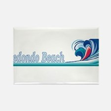 Redondo Beach, California Rectangle Magnet
