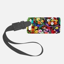 Colorful floral bouquets Luggage Tag