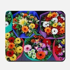 Colorful floral bouquets Mousepad