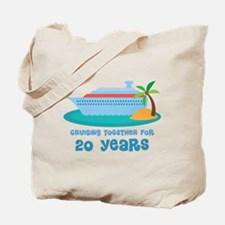 20th Anniversary Cruise Tote Bag