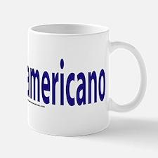 """I am not American"" Italian Mug"