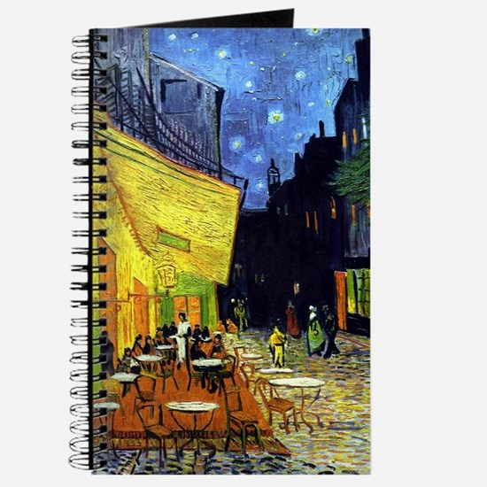 Cafe Terrace at Night by Van Gogh Journal