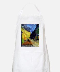 Cafe Terrace at Night by Van Gogh Apron