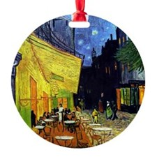 Cafe Terrace at Night by Van Gogh Ornament