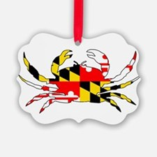 Maryland Crab Ornament