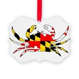Maryland crab Ornaments