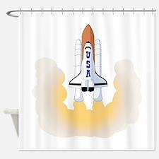 Space Shuttle Shower Curtain
