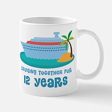 12th Anniversary Cruise Mug