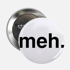 "Black Meh 2.25"" Button (100 pack)"