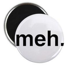 Black Meh Magnets