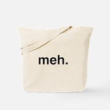 Black Meh Tote Bag