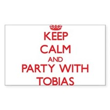 Keep Calm and Party with Tobias Decal