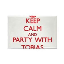 Keep Calm and Party with Tobias Magnets