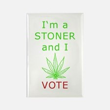 STONER VOTER Rectangle Magnet