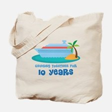 10th Anniversary Cruise Tote Bag