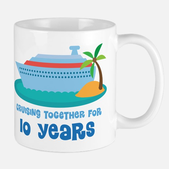 10th Anniversary Cruise Mug