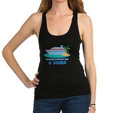 8th Anniversary Cruise Racerback Tank Top