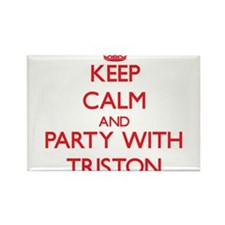 Keep Calm and Party with Triston Magnets