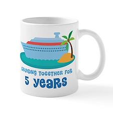 5th Anniversary Cruise Mug
